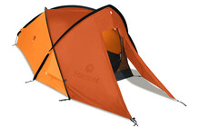Marmot Grid  tente igloo 2P orange/rouge